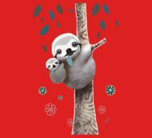 Baby Sloth Daylight One Piece - Long Sleeve