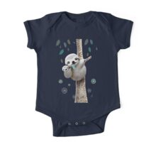 Baby Sloth Daylight One Piece - Short Sleeve