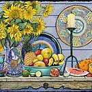 Exotic Fruits by Sarina Tomchin