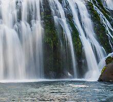 Upper McCloud Falls by RubenGarciaJr