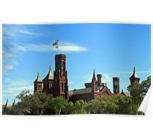 The Smithsonian Castle Poster