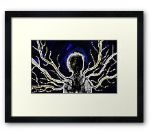 The Dark Man Framed Print