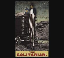 Tarot of the Zirkus Magi -- The Solitarian by DuckSoupDotMe
