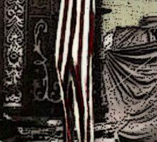 Tarot of the Zirkus Magi -- The Solitarian Sticker