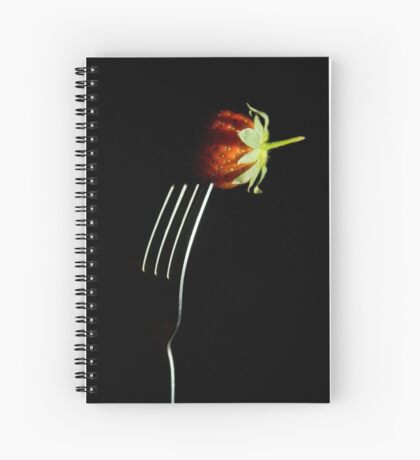 Forked berry Spiral Notebook