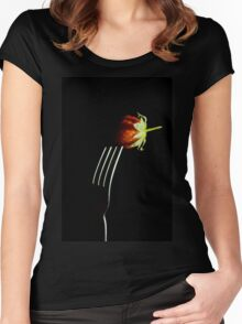Forked berry Women's Fitted Scoop T-Shirt