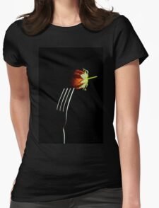 Forked berry Womens Fitted T-Shirt