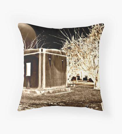 Spooky Sepia Night Throw Pillow