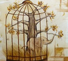 The Wilderness Locked in a Cage by Claudia Feher