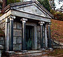 Rhinelander Mausoleum, Sleepy Hollow Cemetery by Jane Neill-Hancock