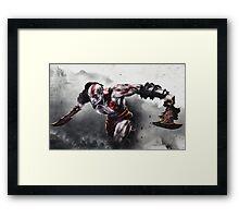 GOW Framed Print