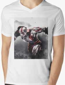 GOW Mens V-Neck T-Shirt
