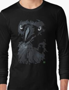 Australian Raven Long Sleeve T-Shirt