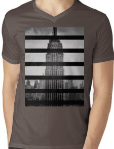 New York Forever Mens V-Neck T-Shirt