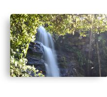 Waterfall In The Heart Of Madagascar Canvas Print