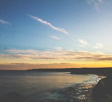 A Newcastle Sunset by brookenash