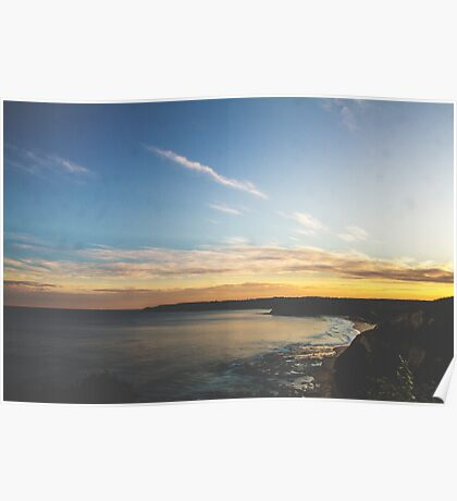 A Newcastle Sunset Poster