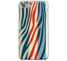 Animal Print Skin Zebra Retro Colorful Pattern 5 iPhone Case/Skin
