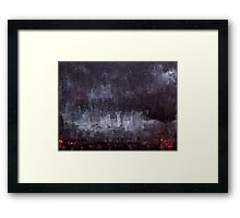 In the absence of natural light Framed Print