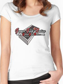 The Official Gamer Geek Nation Logo! Women's Fitted Scoop T-Shirt