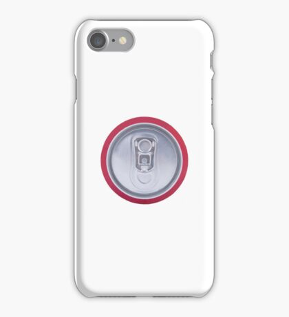Drink can iPhone Case/Skin