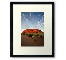 Ayers Rock Framed Print
