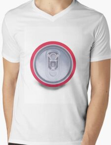 Drink can shadow Mens V-Neck T-Shirt