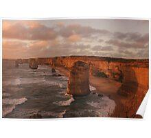 12 Apostles, Great Ocean Road, Vic Poster