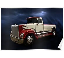 Mack Pickup Truck Poster