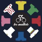 Cycling - The jerseys 'les maillots' by housegrafton