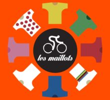 Cycling - The jerseys 'les maillots' Kids Clothes
