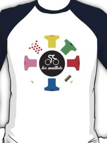 Cycling - The jerseys 'les maillots' T-Shirt