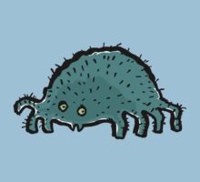 little hairy spider Kids Clothes