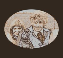 Vintage Doctor Who and Jo Grant by Marjuned