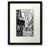 James Place Framed Print