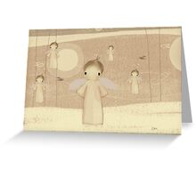 choir of angels Greeting Card
