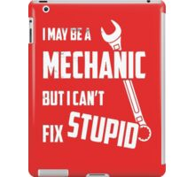 mechanic iPad Case/Skin