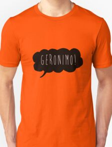 Geronimo! (Black) Unisex T-Shirt
