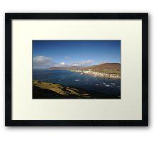 Achill coast Framed Print