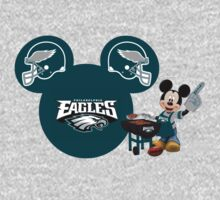 Philedelphia Eagles Mickey Mouse fan by sweetsisters