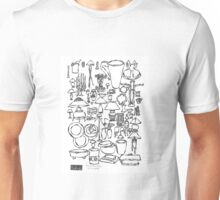 LINE : Furnishings with furniture 01 Unisex T-Shirt