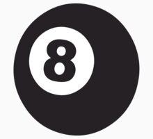 8 Ball Pool T-shirt by retromoomin