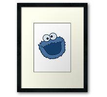 Cookie Monster T-shirt Sesame Street Framed Print