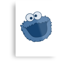Cookie Monster T-shirt Sesame Street Metal Print