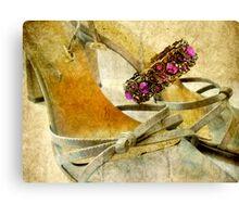 Sandals and Bracelet Canvas Print