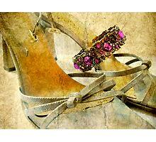 Sandals and Bracelet Photographic Print