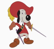 Dogtanian T-shirt Three Musketeeers by retromoomin