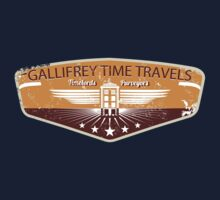 GALLIFREY TIME TRAVELS by karmadesigner