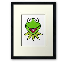 Kermit the Frog T-shirt The Muppets Framed Print