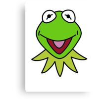 Kermit the Frog T-shirt The Muppets Canvas Print